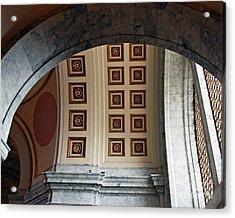 Rotunda Arches Acrylic Print by Chuck Flewelling