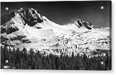 Round Top Mountain Acrylic Print