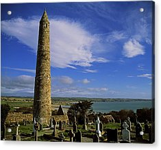 Round Tower, Ardmore, Co Waterford Acrylic Print by The Irish Image Collection