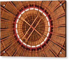 Roundhouse Cupula Acrylic Print by Darleen Stry
