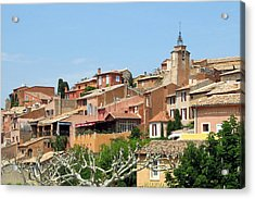 Acrylic Print featuring the photograph Roussillon In Provence by Carla Parris