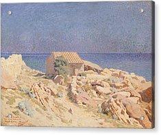Roussillon Landscape Acrylic Print by Georges Daniel de Monfreid