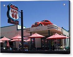 Route 66 Cruisers Williams Arizona Acrylic Print by Bob Christopher