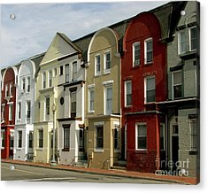 Row Houses Acrylic Print