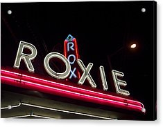 Roxie Acrylic Print by Thomas Brown