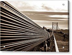 Royal Gorge Bridge Acrylic Print