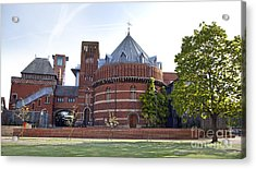 Rst And Swan Theatre Acrylic Print by Jane Rix