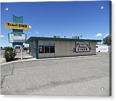 Acrylic Print featuring the photograph Rt 66 Rubee's Diner by Paul Plaine