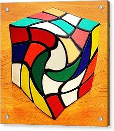 Rubik's Revenge Acrylic Print