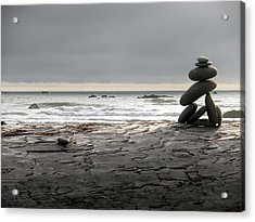 Ruby Beach 1 Acrylic Print by Fred Russell