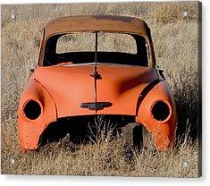 Ruby Chevrolet Acrylic Print by FeVa  Fotos