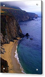 Rugged Shoreline Acrylic Print by Ron Regalado