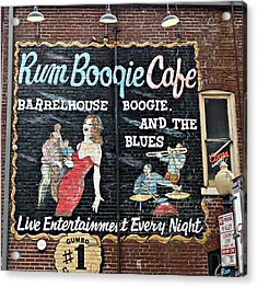 Rum Boogie Cafe Acrylic Print