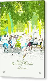Run Walk Poster Acrylic Print