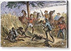 Runaway Slave Acrylic Print by Granger