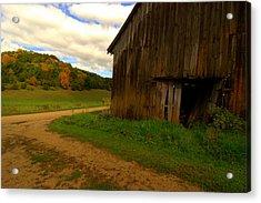 Rural Fixer-upper Acrylic Print by Susan Camden