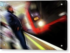 Acrylic Print featuring the photograph Rush by Richard Piper