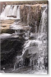 Acrylic Print featuring the photograph Rushing And Flowing by Michelle H