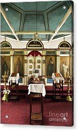Russian Orthodox Church Acrylic Print by John Greim
