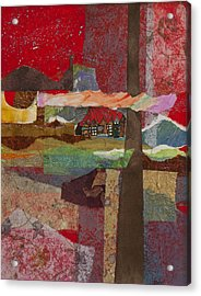 Russian Village Acrylic Print