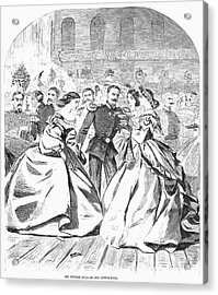 Russian Visit, 1863 Acrylic Print by Granger