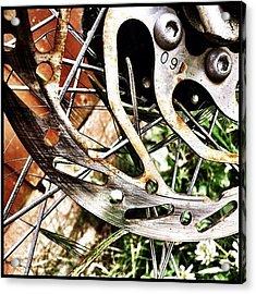 Rust In Peace Acrylic Print