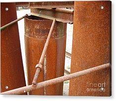 Rust Acrylic Print by Phillip Steele