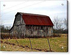 Rustic Barn 2 Acrylic Print by Marty Koch