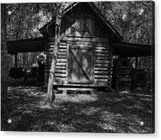 Rustic Barn Acrylic Print by Warren Thompson