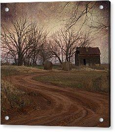 Rustic Shack Acrylic Print