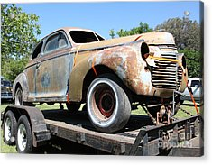 Rusty 1941 Chevrolet . 5d16211 Acrylic Print by Wingsdomain Art and Photography