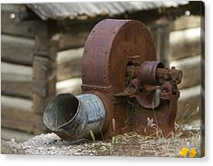 Rusty Blower Acrylic Print by JoJo Photography
