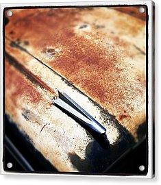 Rusty El Camino Acrylic Print