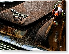 Rusty Impe Acrylic Print by DigiArt Diaries by Vicky B Fuller
