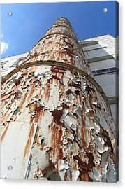 Rusty Tower Acrylic Print by Todd Sherlock