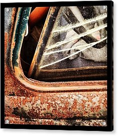 Rusty Viewpoint Acrylic Print
