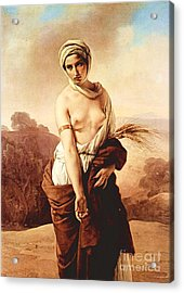 Ruth Acrylic Print by Pg Reproductions