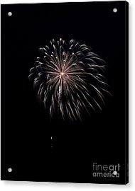 Acrylic Print featuring the photograph Rvr Fireworks 10 by Mark Dodd