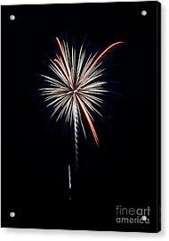 Acrylic Print featuring the photograph Rvr Fireworks 11 by Mark Dodd
