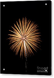Acrylic Print featuring the photograph Rvr Fireworks 27 by Mark Dodd