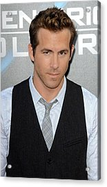 Ryan Reynolds At Arrivals For L.a Acrylic Print by Everett