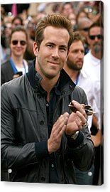 Ryan Reynolds At Arrivals For X-men Acrylic Print by Everett