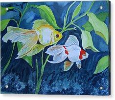Ryukin Acrylic Print