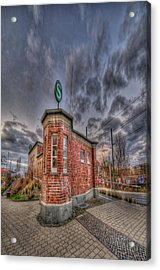 S Bahn Eck Acrylic Print by Nathan Wright
