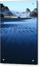 S Ecola Oregon Acrylic Print by Steven A Bash