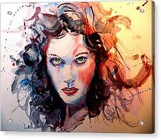 Sabina Acrylic Print by Steven Ponsford