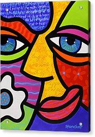 Sabrina Starr Acrylic Print