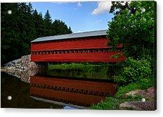 Sachs Bridge Gettysburg Pa Acrylic Print