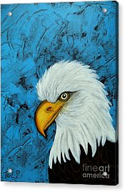 Sacred Bald Eagle Acrylic Print