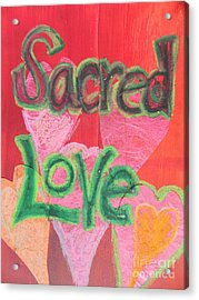 Sacred Love Acrylic Print